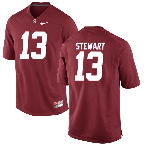 Men's ArDarius Stewart Alabama Crimson Tide Game Crimson Jersey