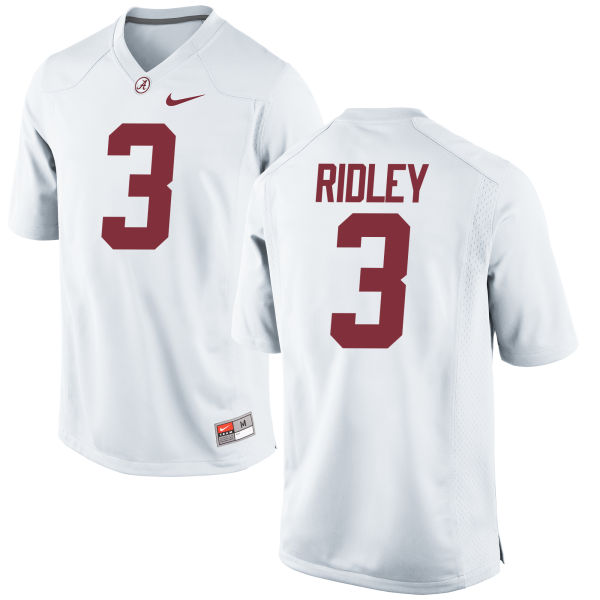 Men's Nike Calvin Ridley Alabama Crimson Tide Game White Jersey