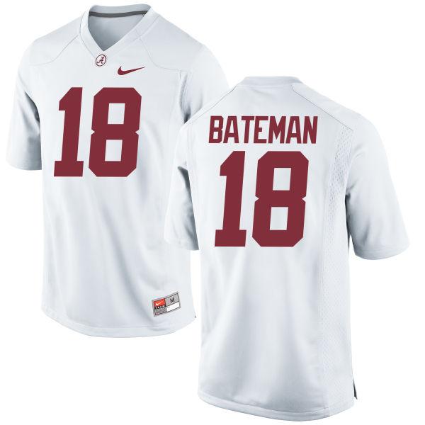 Men's Nike Cooper Bateman Alabama Crimson Tide Replica White Jersey