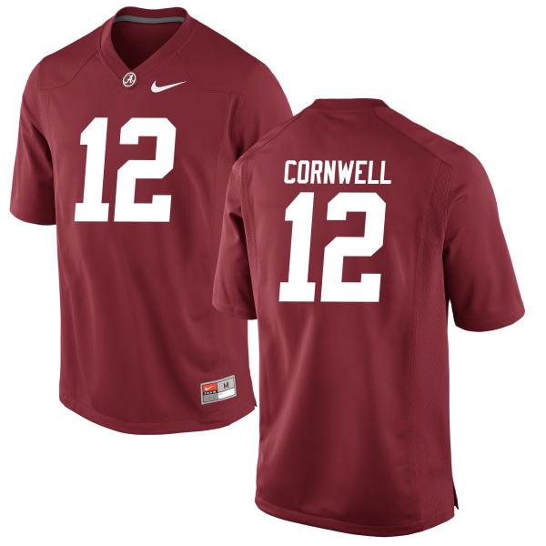 Women's David Cornwell Alabama Crimson Tide Game Crimson Jersey