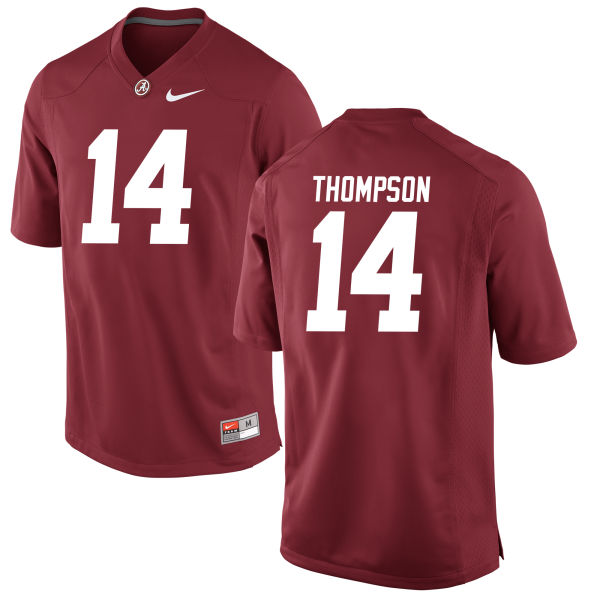 Men's Deionte Thompson Alabama Crimson Tide Authentic Crimson Jersey