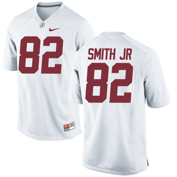 Men's Nike Irv Smith Jr. Alabama Crimson Tide Authentic White Jersey