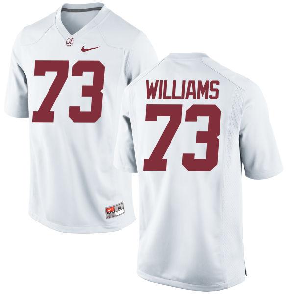 Men's Nike Jonah Williams Alabama Crimson Tide Game White Jersey