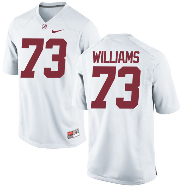 Women's Nike Jonah Williams Alabama Crimson Tide Game White Jersey