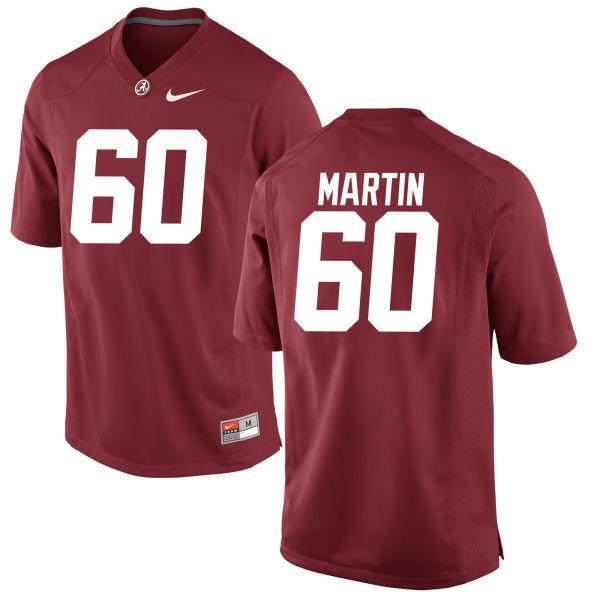 Men's Malik Martin Alabama Crimson Tide Game Crimson Jersey