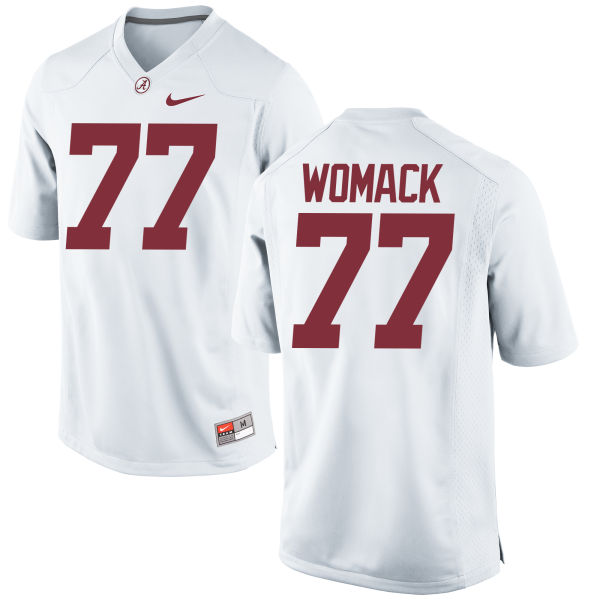 Men's Nike Matt Womack Alabama Crimson Tide Game White Jersey