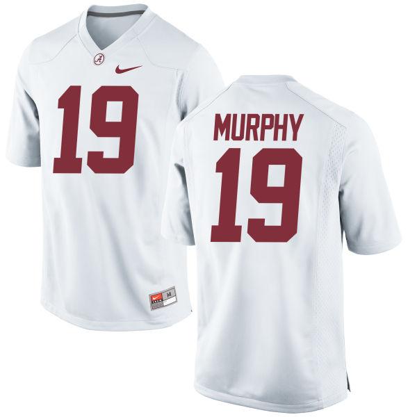 Men's Nike Montana Murphy Alabama Crimson Tide Game White Jersey