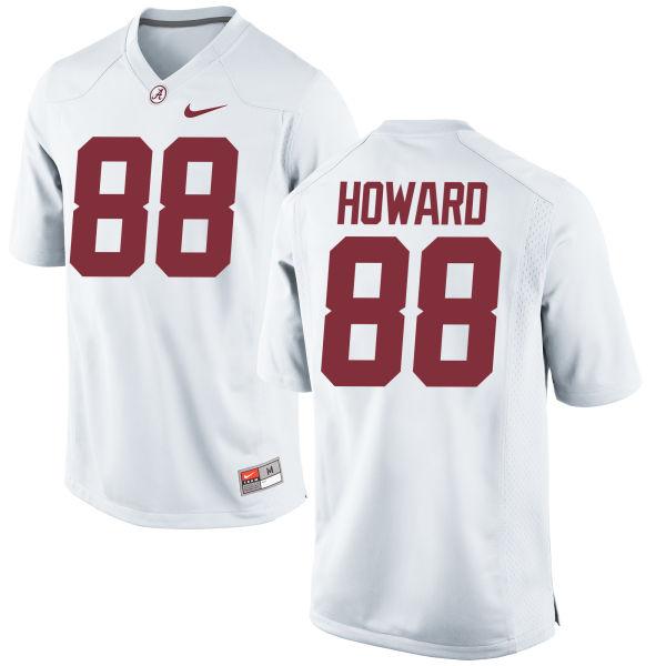 Men's Nike O.J. Howard Alabama Crimson Tide Replica White Jersey