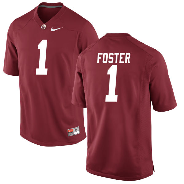 Men's Robert Foster Alabama Crimson Tide Game Crimson Jersey