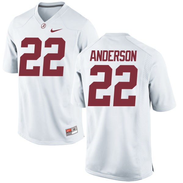Women's Nike Ryan Anderson Alabama Crimson Tide Game White Jersey