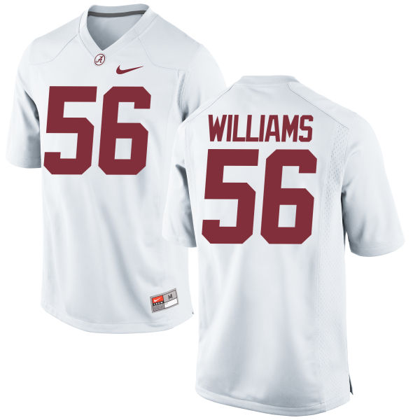 Men's Nike Tim Williams Alabama Crimson Tide Replica White Jersey