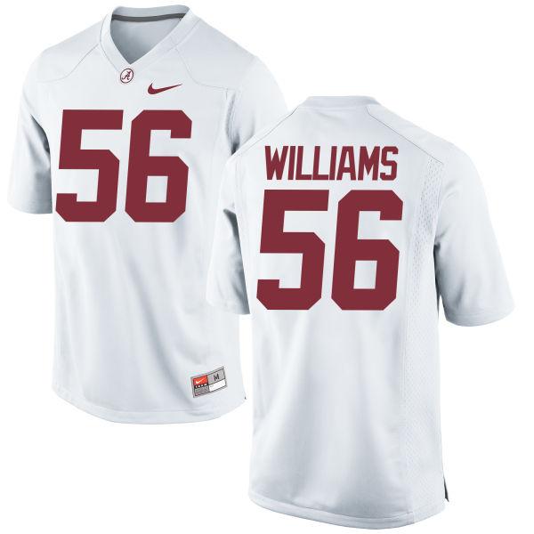 Men's Nike Tim Williams Alabama Crimson Tide Game White Jersey