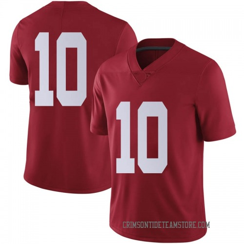 Men's Nike Ale Kaho Alabama Crimson Tide Limited Crimson Football College Jersey