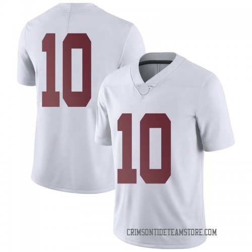 Men's Nike Ale Kaho Alabama Crimson Tide Limited White Football College Jersey