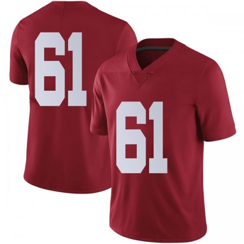 Men's Nike Alex Pearman Alabama Crimson Tide Limited Crimson Football College Jersey