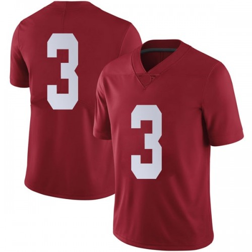 Men's Nike Alex Reese Alabama Crimson Tide Limited Crimson Football College Jersey