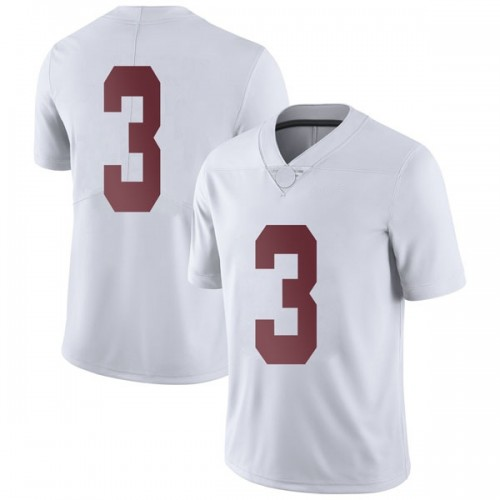 Men's Nike Alex Reese Alabama Crimson Tide Limited White Football College Jersey