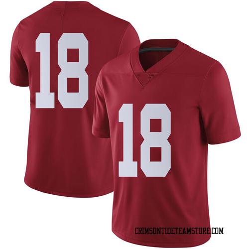 Men's Nike Austin Jones Alabama Crimson Tide Limited Crimson Football College Jersey