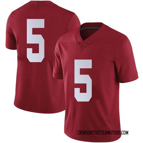 Men's Nike Avery Johnson Jr. Alabama Crimson Tide Limited Crimson Football College Jersey