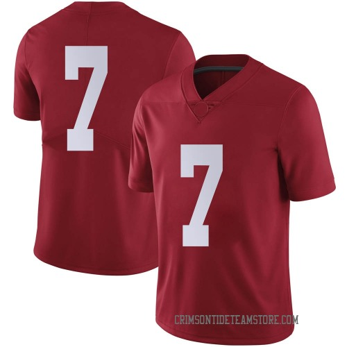 Men's Nike Brandon Turnage Alabama Crimson Tide Limited Crimson Football College Jersey