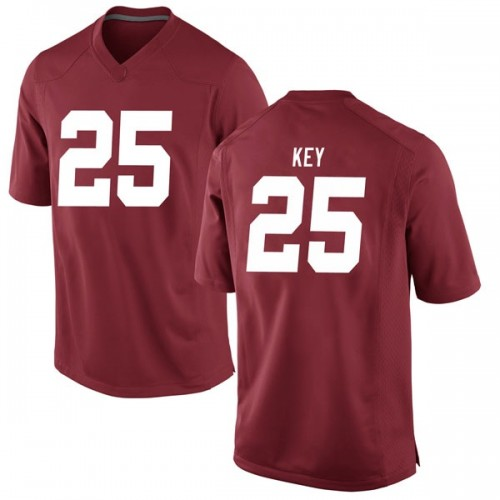 Men's Nike Braxton Key Alabama Crimson Tide Game Crimson Football College Jersey