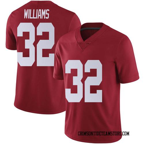 Men's Nike C.J. Williams Alabama Crimson Tide Limited Crimson Football College Jersey