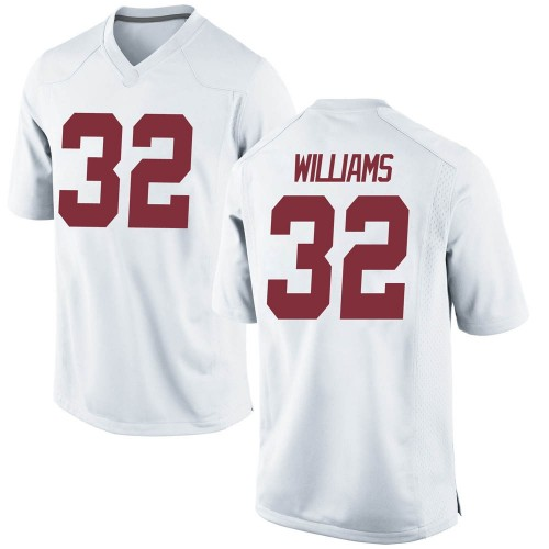 Men's Nike C.J. Williams Alabama Crimson Tide Replica White Football College Jersey