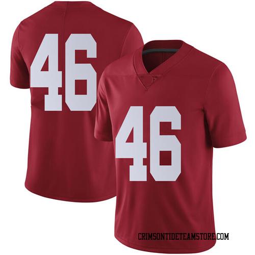Men's Nike Cameron Latu Alabama Crimson Tide Limited Crimson Football College Jersey