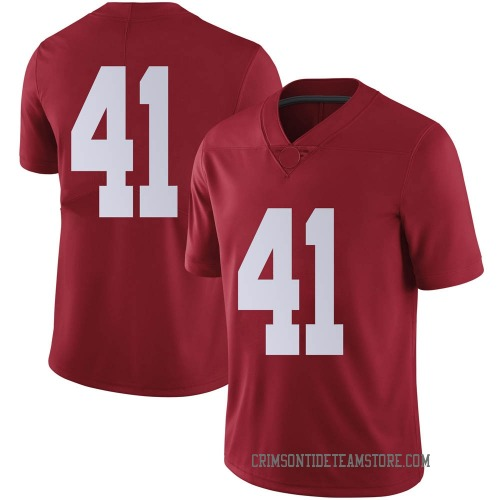 Men's Nike Carson Ware Alabama Crimson Tide Limited Crimson Football College Jersey