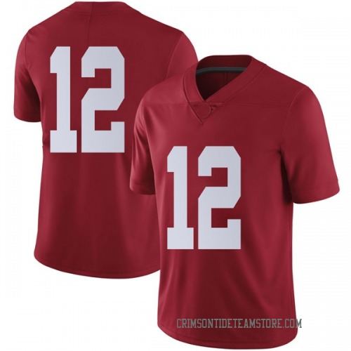 Men's Nike Chadarius Townsend Alabama Crimson Tide Limited Crimson Football College Jersey