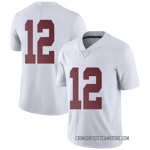 Men's Nike Chadarius Townsend Alabama Crimson Tide Limited White Football College Jersey