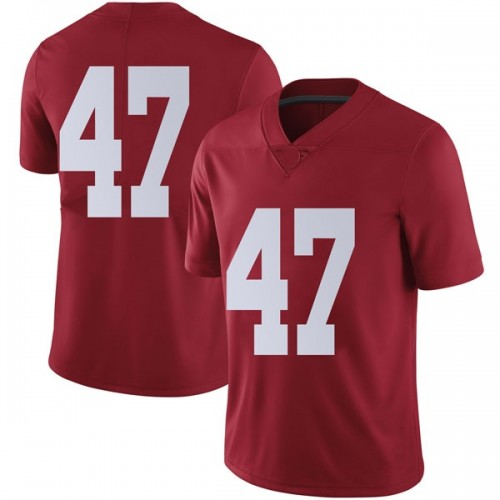 Men's Nike Chris Howard Alabama Crimson Tide Limited Crimson Football College Jersey