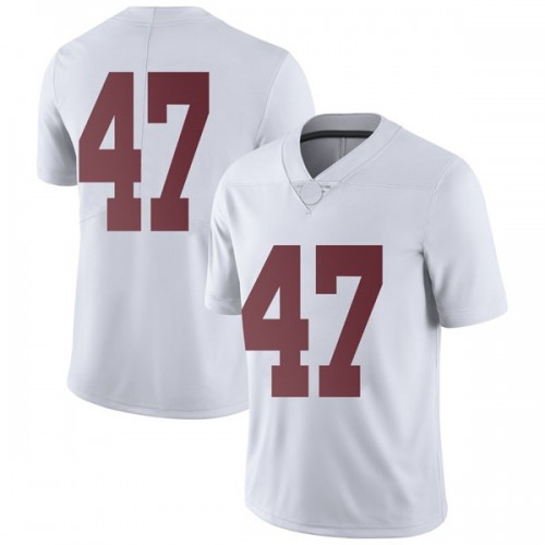 Men's Nike Chris Howard Alabama Crimson Tide Limited White Football College Jersey