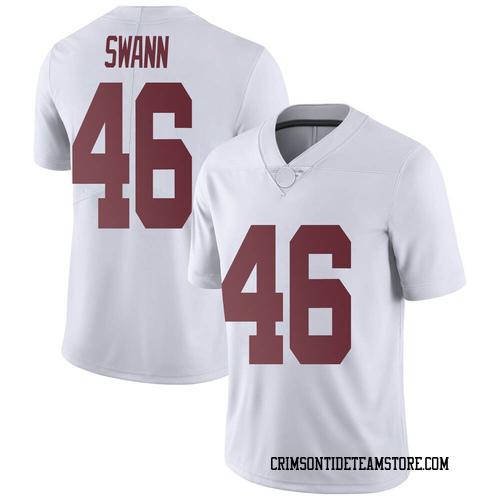Men's Nike Christian Swann Alabama Crimson Tide Limited White Football College Jersey