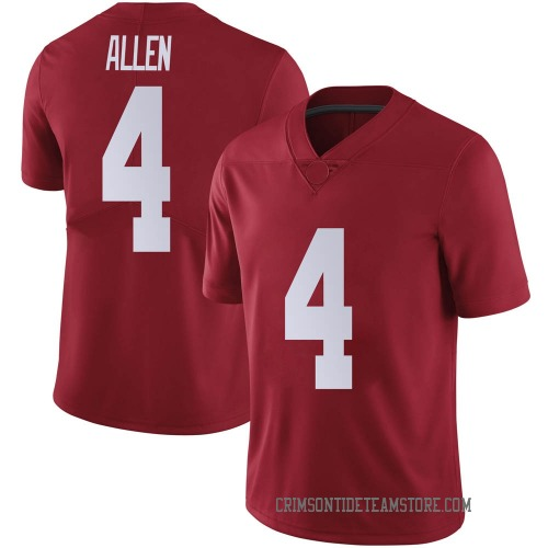 Men's Nike Christopher Allen Alabama Crimson Tide Limited Crimson Football College Jersey