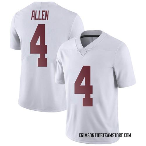 Men's Nike Christopher Allen Alabama Crimson Tide Limited White Football College Jersey