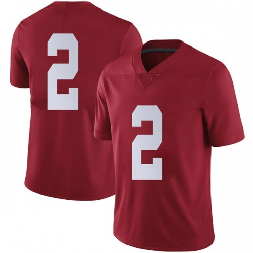 Men's Nike Collin Sexton Alabama Crimson Tide Limited Crimson Football College Jersey