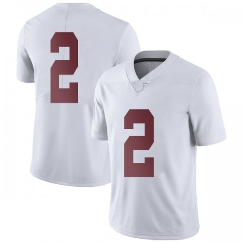 Men's Nike Collin Sexton Alabama Crimson Tide Limited White Football College Jersey