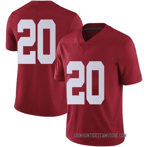 Men's Nike Cooper Bishop Alabama Crimson Tide Limited Crimson Football College Jersey