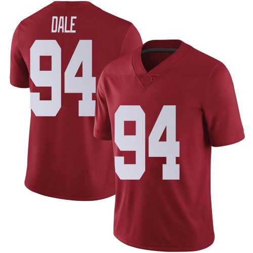 Men's Nike DJ Dale Alabama Crimson Tide Limited Crimson Football College Jersey