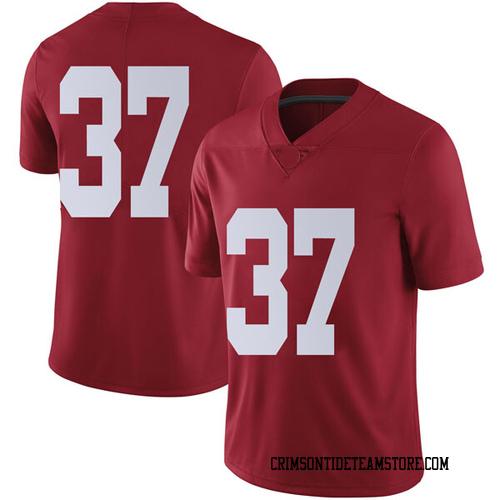 Men's Nike Dalton Adkison Alabama Crimson Tide Limited Crimson Football College Jersey