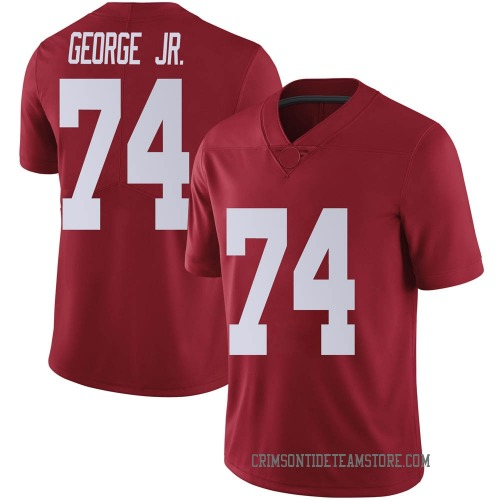 Men's Nike Damieon George Jr. Alabama Crimson Tide Limited Crimson Football College Jersey