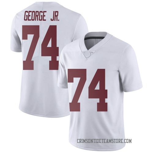 Men's Nike Damieon George Jr. Alabama Crimson Tide Limited White Football College Jersey