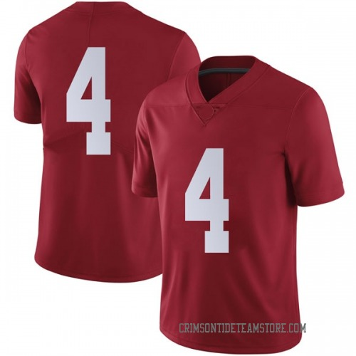 Men's Nike Daniel Giddens Alabama Crimson Tide Limited Crimson Football College Jersey