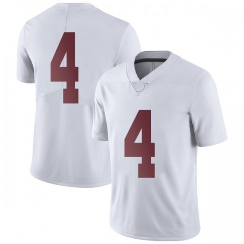 Men's Nike Daniel Giddens Alabama Crimson Tide Limited White Football College Jersey