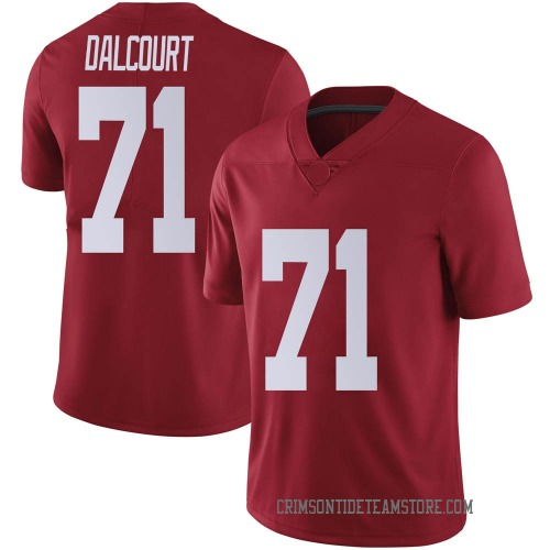 Men's Nike Darrian Dalcourt Alabama Crimson Tide Limited Crimson Football College Jersey