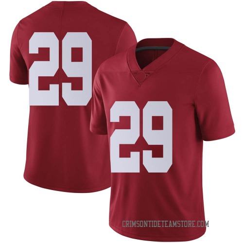 Men's Nike DeMarcco Hellams Alabama Crimson Tide Limited Crimson Football College Jersey