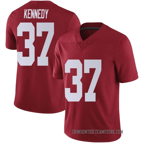 Men's Nike Demouy Kennedy Alabama Crimson Tide Limited Crimson Football College Jersey