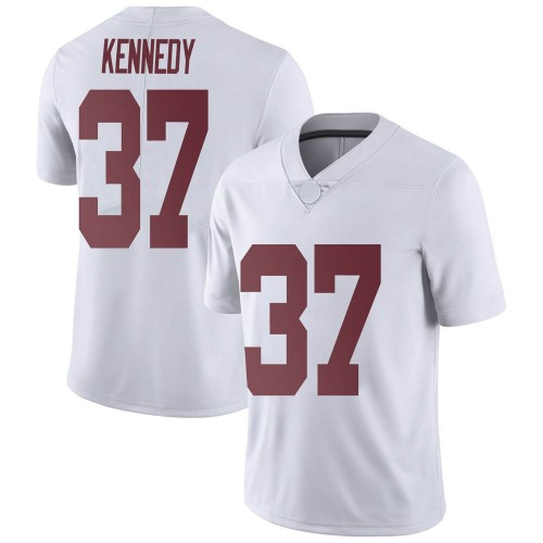 Men's Nike Demouy Kennedy Alabama Crimson Tide Limited White Football College Jersey