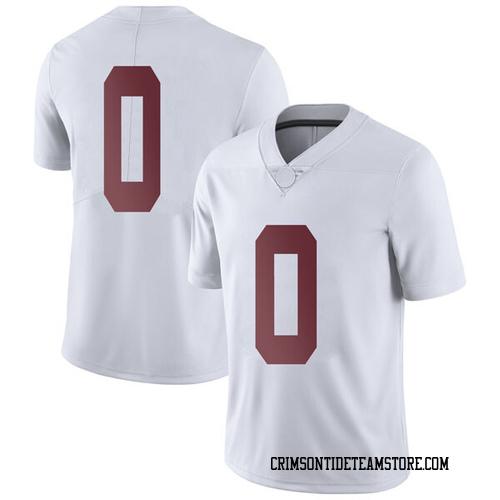 Men's Nike Donta Hall Alabama Crimson Tide Limited White Football College Jersey